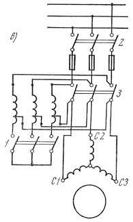 Снижение напряжения при помощи автотрансформатора